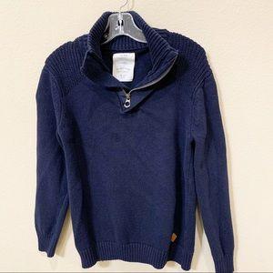 ZARA Boy's Half-Zip Sweater